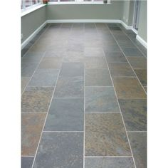 Rustic Multicolour Brazilian Riven Slate Wall and Floor Tiles 300x300 | Natural Stone Tiles | Mrs Stone Store