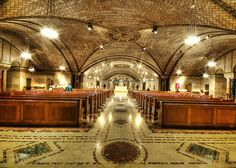 Crypt Church located in the National Shrine of the Immaculate Conception.  It is the largest Roman Catholic church in the US.  by Allaninva2008, via Flickr