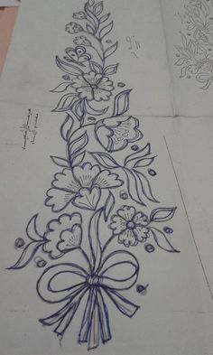 Embroidery Designs, Embroidery Flowers Pattern, Beaded Embroidery, Flower Patterns, Hardanger Embroidery, Embroidery Stitches, Machine Embroidery, Bordado Floral, Embroidery On Clothes