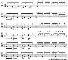 Hi-Hat Drum Fills? Why Not?! - Drum Lesson #drumlessons #drums #drumfills Drum Sheet Music, Drums Sheet, Drum Musical Instrument, Musical Instruments, Drum Rudiments, Drum Notes, Drum Patterns, Drum Lessons, Percussion