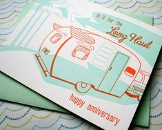 Letterpress Stationery and Artwork from Paper Parasol Press