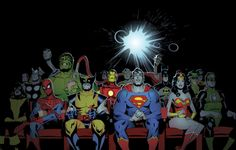 Marvel & Dc Heroes by Andrew Robinson
