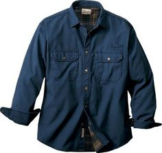 Cabela's Roughneck™ Flannel-Lined Stonewash Canvas Shirt Jac – Regular : Cabela's