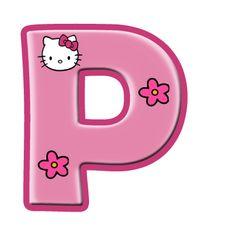 Oh my Alfabetos!: Alfabeto de Hello Kitty con letras grandes. Hello Kitty Art, Hello Kitty Coloring, Hello Kitty Items, Hello Kitty Birthday, Here Kitty Kitty, Hello Kitty Pictures, Kitty Images, Anniversaire Hello Kitty, Polka Dot Letters