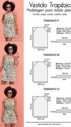 New sewing clothes diy dress free pattern ideas Dress Sewing Patterns, Sewing Patterns Free, Clothing Patterns, Free Pattern, Pattern Ideas, Pillowcase Dress Pattern, Diy Clothing, Sewing Clothes, Fashion Sewing