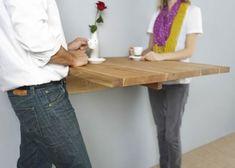 bois table mural design mashstudios