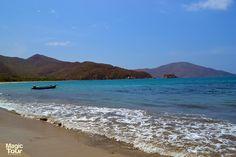 Neguanje, Hermosa playa de aguas azules #Neguanje #Blue #Water #Nature #Welovetravel #Cultures #Adventures