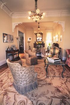 Victorian Style Living Room Decorating