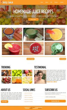 food blogger template recipes magazine blogger templates