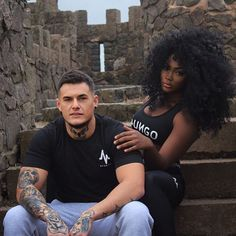 Gorgeous interracial couple #love #wmbw #bwwm