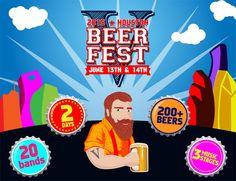 Houston Beer Fest Is On June 13-14, 2015 #CraftBeer #Beer #JoinTheInvasion