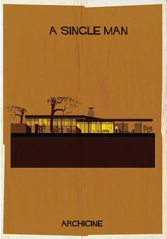 If It's Hip, It's Here: ARCHICINE: Famous Movie Architecture As Modernist Illustrations.