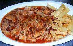 Callos caseros a la asturiana (por La Casa del Parque) #receta #recipe…