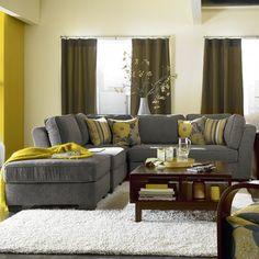 Lane Furniture Roxy Armless Modular Sectional