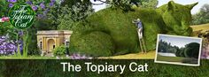 giant cat topiary - Google Search