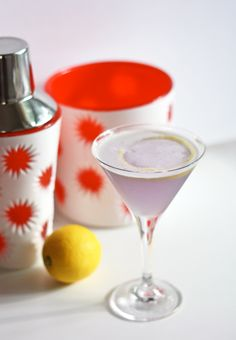 Aviation Cocktail (pictured above) 1 1/2 oz. Gin 1 tsp. Crème de Violette 1/2 oz. Maraschino Liqueur 1/4 oz. Simple Syrup 3/4 oz. Fresh Lemon Juice Add ingredients to a cocktail shaker filled with ice. Shake vigorously and strain into a chilled glass.