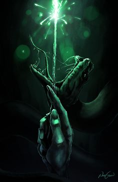 Voldemort - Slytherin, Nihat Gokcen on ArtStation at https://www.artstation.com/artwork/KBkxB