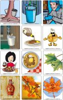 Jeu d'images - Le temps des sucres French Resources, Maple Syrup, Quebec, Tour, Coloring Pages, Chicken Recipes, Images, Canada, Winter
