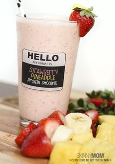 Start your morning off the right way with this delicious smoothie!