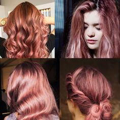 It all started with Sienna Miller's peachy rose gold hair. Then suddenly, my pinterest feed was a flooded by gorgeous hair in this whimsical color.