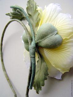 """Купить Ободок - """"Летний шик"""" - цветы ручной работы, цветы из шелка, искусственные цветы"""