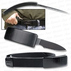 Belt knife.