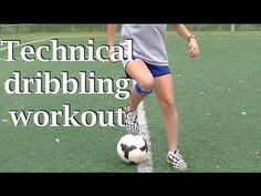 This technical dribbling workout features 11 beginner/intermediate dribbling drills performed in real time.