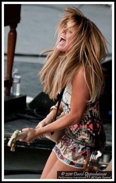 GPN Z Music, Rock Music, Rock And Roll Girl, Rock N Roll, Grace Potter, Ladies Of Metal, Guitar Girl, Rock Chick, Rock Legends