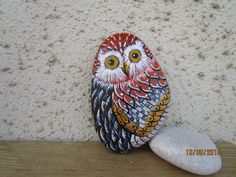 painted by Danijela Milosevic... Great owl with lots of feather work!
