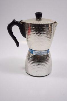 IRMEL NOVA EXPRESS CAFFETTIERA MOKA VINTAGE ALLUMINIO PURISSIMO OTTIMA! Coffee Shop, Coffee Maker, Italian Coffee, Espresso Maker, Moka, Vintage Coffee, Vintage Italian, Coffee Recipes, Space