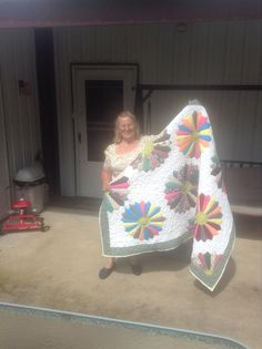 This is me,, Lavonne  with latest quilt