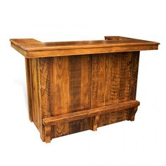 5\' Portable Rustic Bar Rental | Small drawers, Country chic and Chic ...