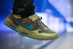 d63447e79df Nike Air Max 1 (Ridgerock Turbo Green) – Sneaker Freaker Air Max 1