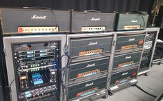 Angus Young's amps