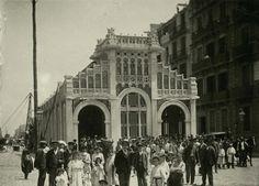 Un edifici desaparegut,Apeadero  Passeig de Gràcia-Aragó.