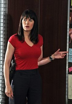 Paget Brewster in Criminal Minds