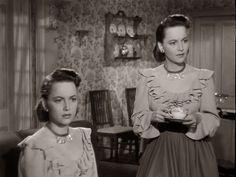 The Dark Mirror (1946) - Olivia de Havilland plays twins
