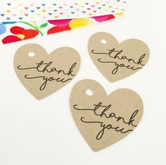 Heart Tags  Product Gift Tags  Happy Mail by SimplyMadeByErin