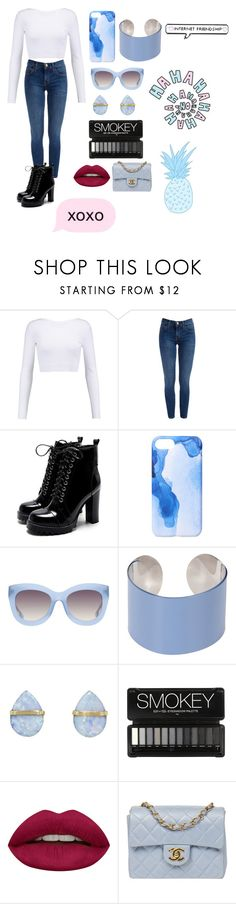 """Day One"" by chillycherry ❤ liked on Polyvore featuring Cushnie Et Ochs, Ankit, Alice + Olivia, Maison Margiela, Melissa Joy Manning, Huda Beauty, Chanel and brookie700"