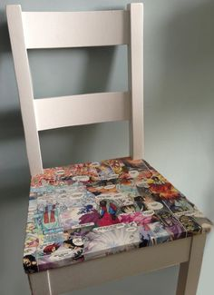 Bespoke Decoupage Furniture Commissions by RedSalamander on Etsy, £100.00