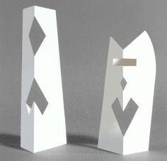 Bruno Munari's traveling sculptures