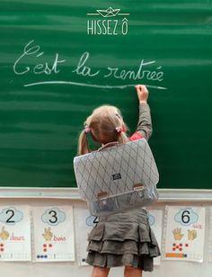 bientôt la rentrée scolaire, pensez aux cartables HISSEZ Ô ! léger//unique//écolo