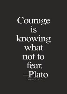 Plato Quotes - Courage is knowing what not to fear. Quotable Quotes, Wisdom Quotes, Words Quotes, Me Quotes, Motivational Quotes, Inspirational Quotes, Sayings, Night Quotes, The Words