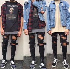 Stunning Tips: Urban Wear Grunge african american urban fashion pictures.Urban Fashion Trends H&m urban fashion trends hair. Red Flannel Shirt, Flannel Outfits, Outfits Casual, Tomboy Outfits, Grunge Outfits, Cool Outfits, Party Outfits, Tomboy Swag, Party Clothes