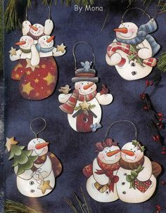 Christine Schilling-Snowflakes Sweeties - Poli natal - Picasa Web Albums