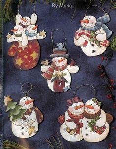 Christine Schilling-Snowflakes Sweeties - Poli natal - Picasa Web Albums