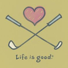 Life is good when we're golfing! More golf stuff at #lorisgolfshoppe