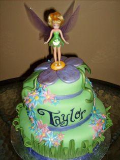 3 layer Tink cake