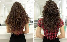 New haircut medium curly natural curls wavy hair 44 Ideas Layered Curly Hair, Curly Hair Cuts, Wavy Hair, Curly Hair Styles, Natural Hair Styles, Long Natural Curls, Natural Waves, Medium Curly, Medium Hair Cuts