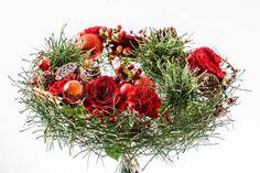 inverno bouquet Archivio Fotografico